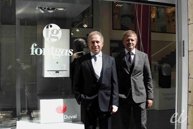 Comercial fontgas inaugura un nuevo centro en barcelona electroimagen - Fontgas sabadell ...