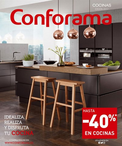 Conforama presenta su gu a de cocinas 2017 electroimagen - Cocinas conforama 2017 ...