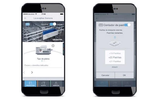 App de Home Connect de Siemens