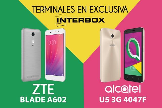 Interbox comercializa en exclusiva dos smartphones de ZTE y Alcatel - Electroimagen