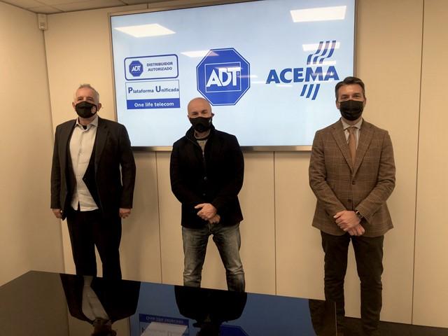 Acema incorpora los servicios de seguridad de ADT a la red de tiendas adheridas en España